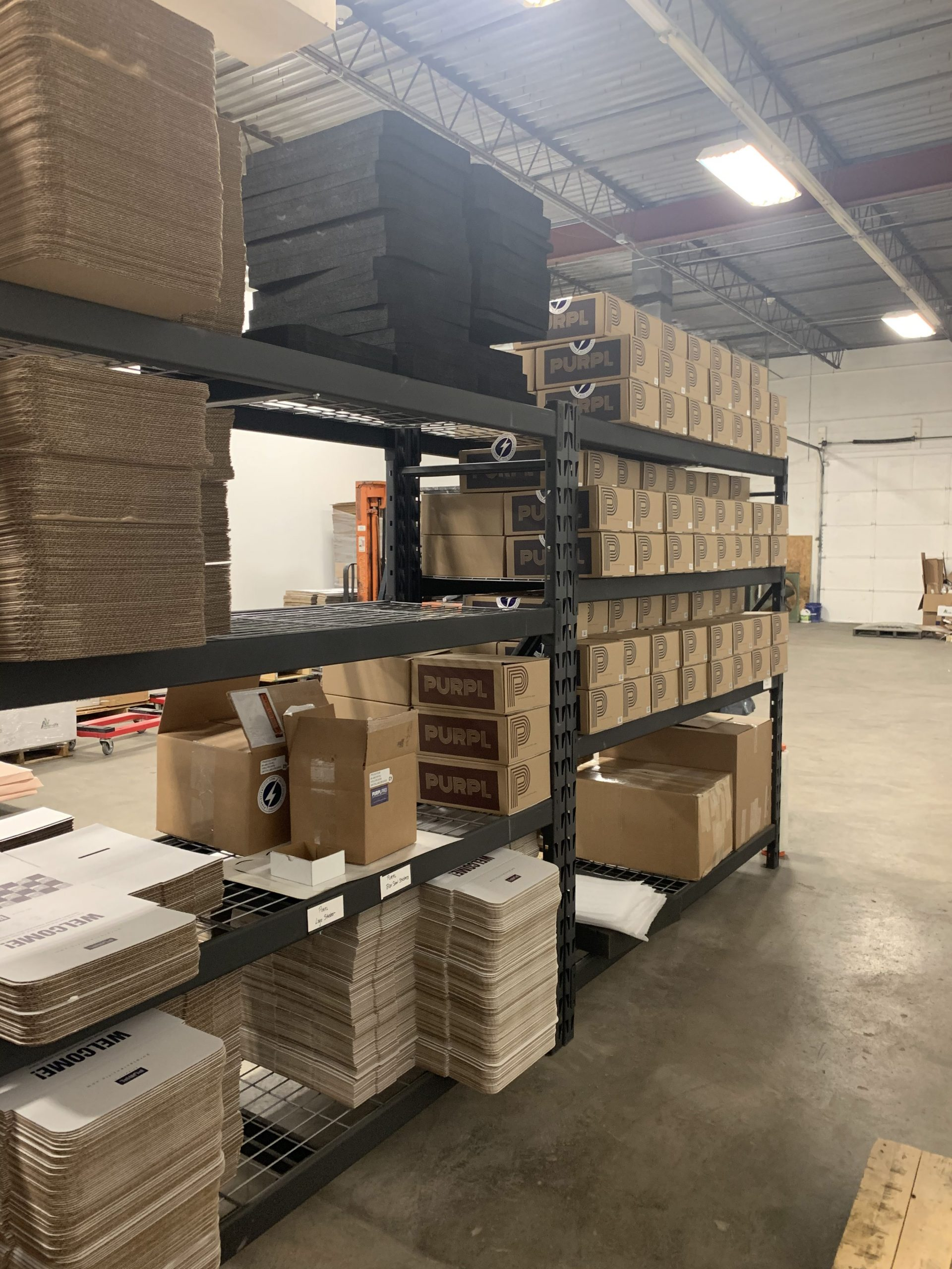 inventory storage for our clients