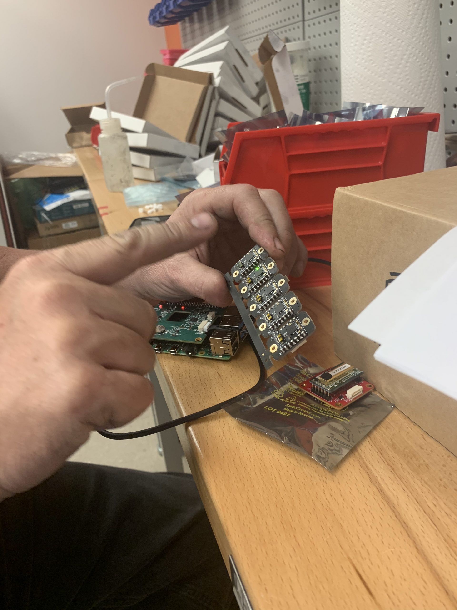 our CTO tests and quality controls our parts before they leave